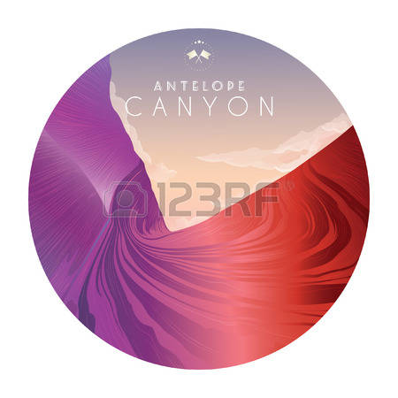Antelope Canyon clipart #3, Download drawings