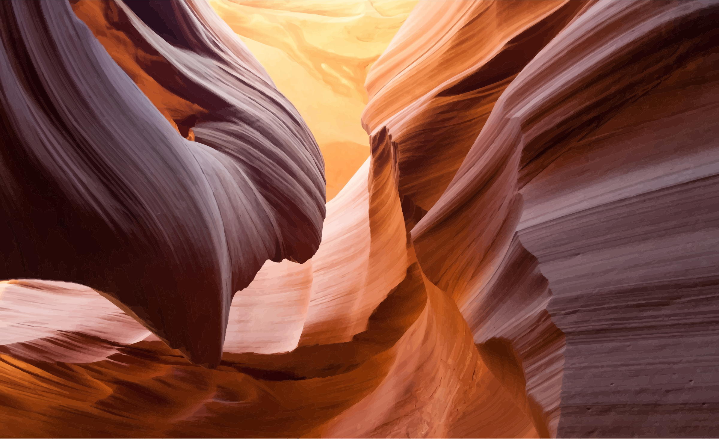 Antelope Canyon clipart #6, Download drawings