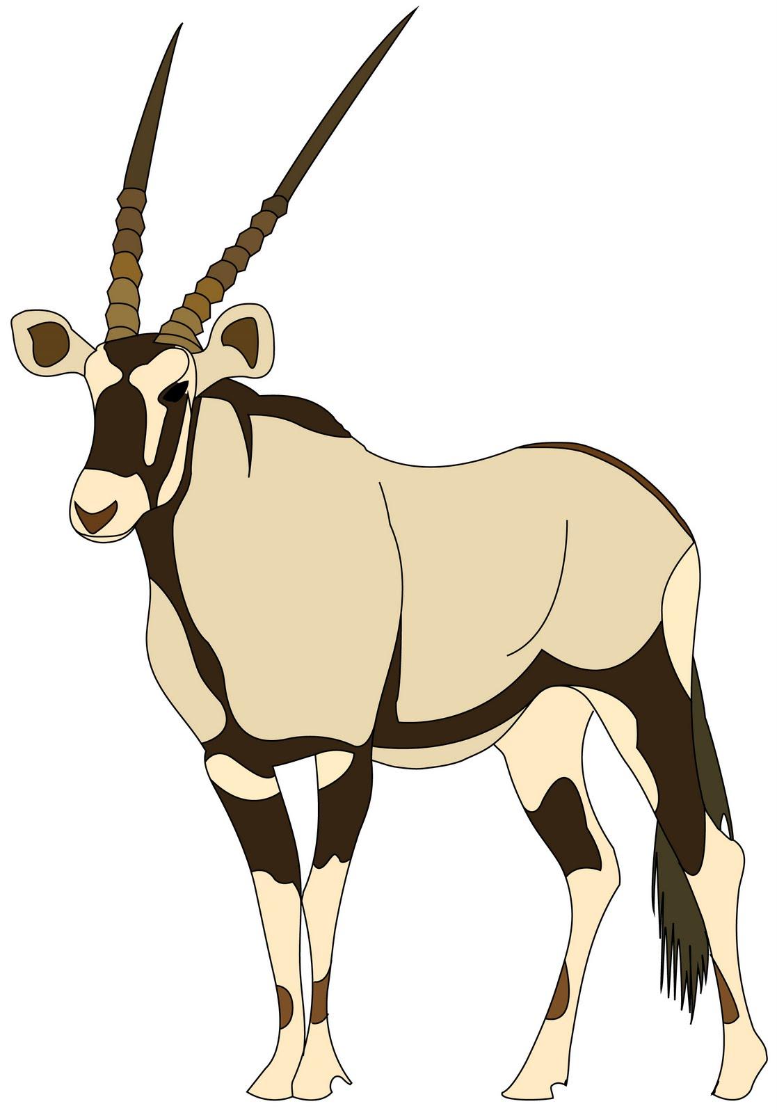 Antelope clipart #5, Download drawings