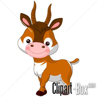Antelope clipart #2, Download drawings