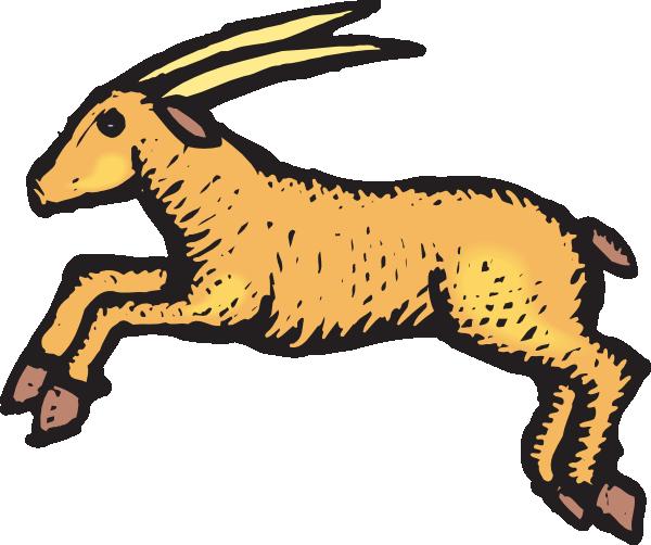 Antelope clipart #1, Download drawings