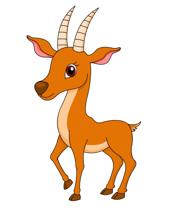 Antelope clipart #14, Download drawings