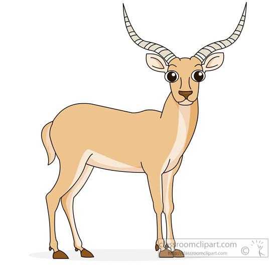 Antelope clipart #19, Download drawings