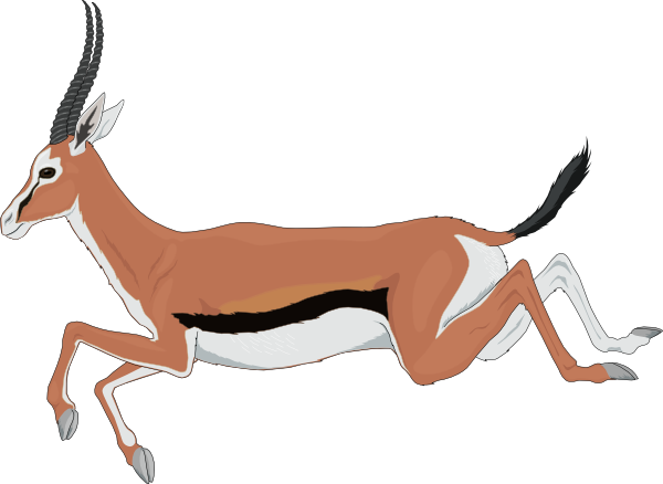 Antelope clipart #10, Download drawings