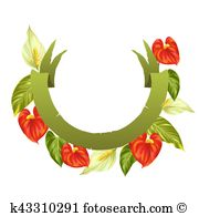 Anthurium clipart #4, Download drawings