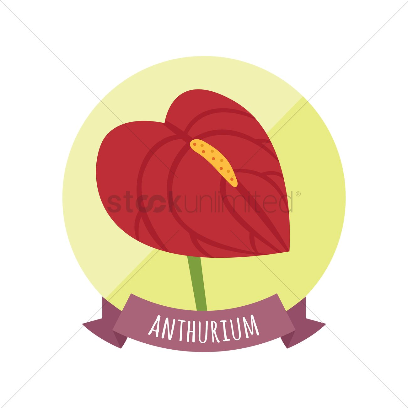 Anthurium svg #19, Download drawings