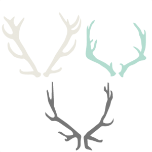 Antler clipart #3, Download drawings