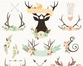 Antler clipart #20, Download drawings