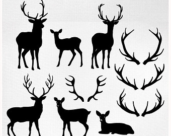 Antler clipart #5, Download drawings