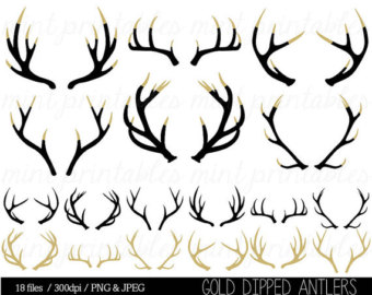 Antler clipart #6, Download drawings