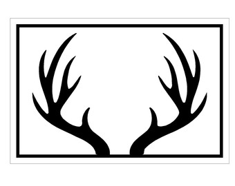 Antler clipart #7, Download drawings
