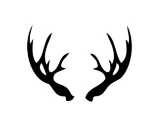 Antler clipart #1, Download drawings