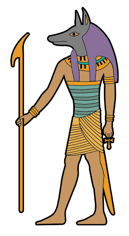 Anubis clipart #3, Download drawings