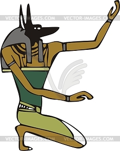 Anubis clipart #1, Download drawings