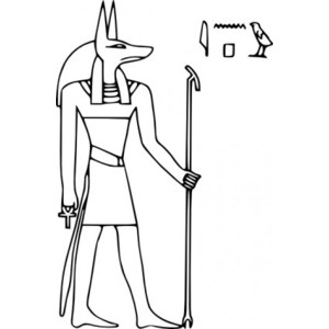 Anubis clipart #9, Download drawings