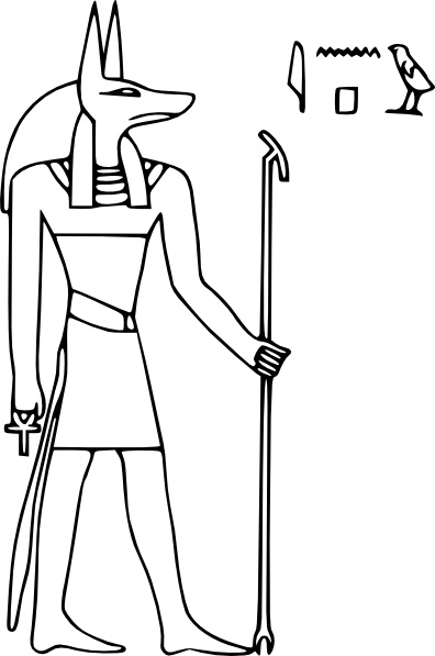 Anubis clipart #19, Download drawings