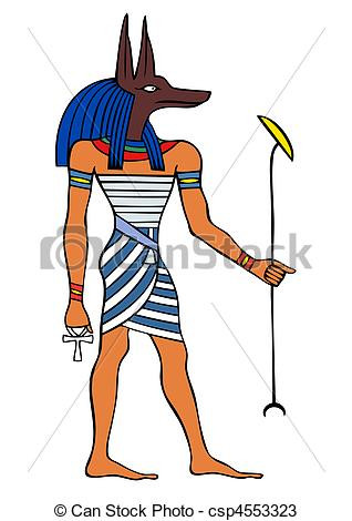 Anubis clipart #18, Download drawings