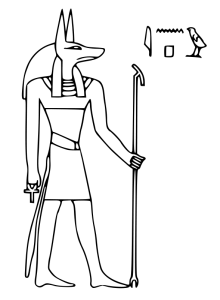 Anubis clipart #11, Download drawings