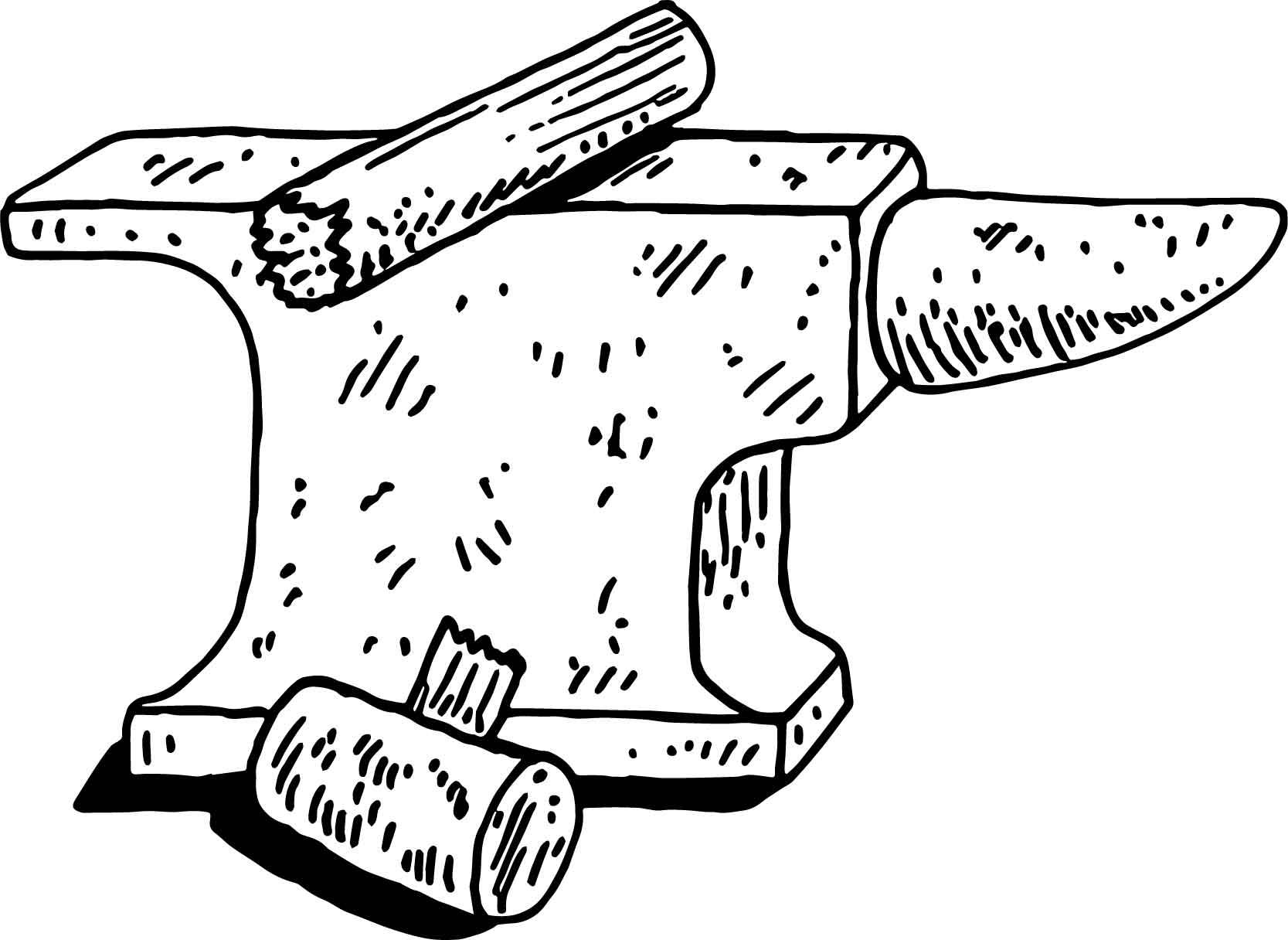 Anvil coloring #3, Download drawings