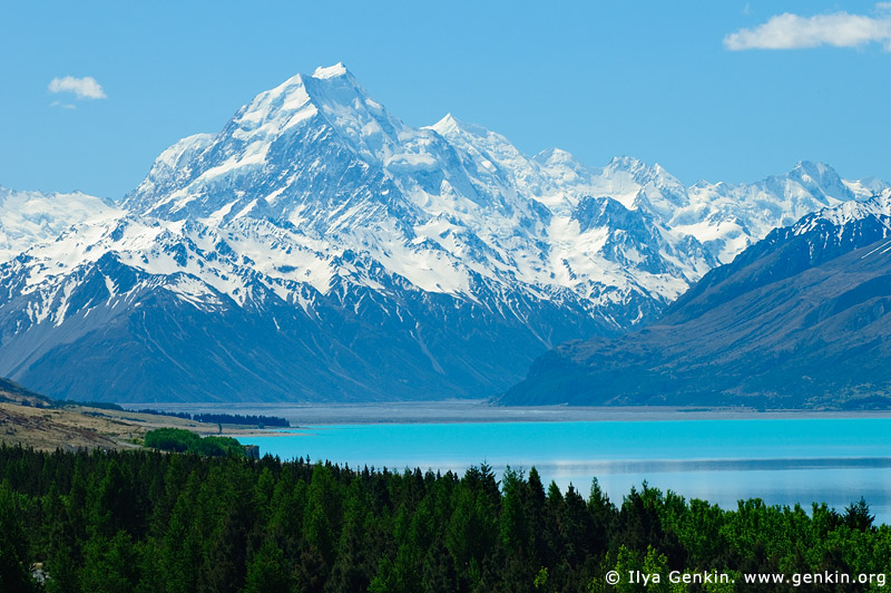 Aoraki Mount Cook coloring #1, Download drawings