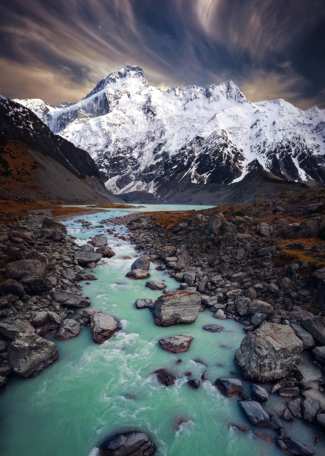 Aoraki Mount Cook coloring #16, Download drawings
