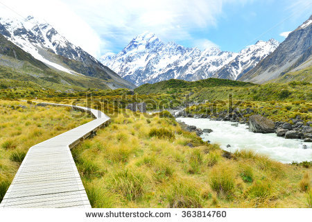 Aoraki Mount Cook coloring #2, Download drawings