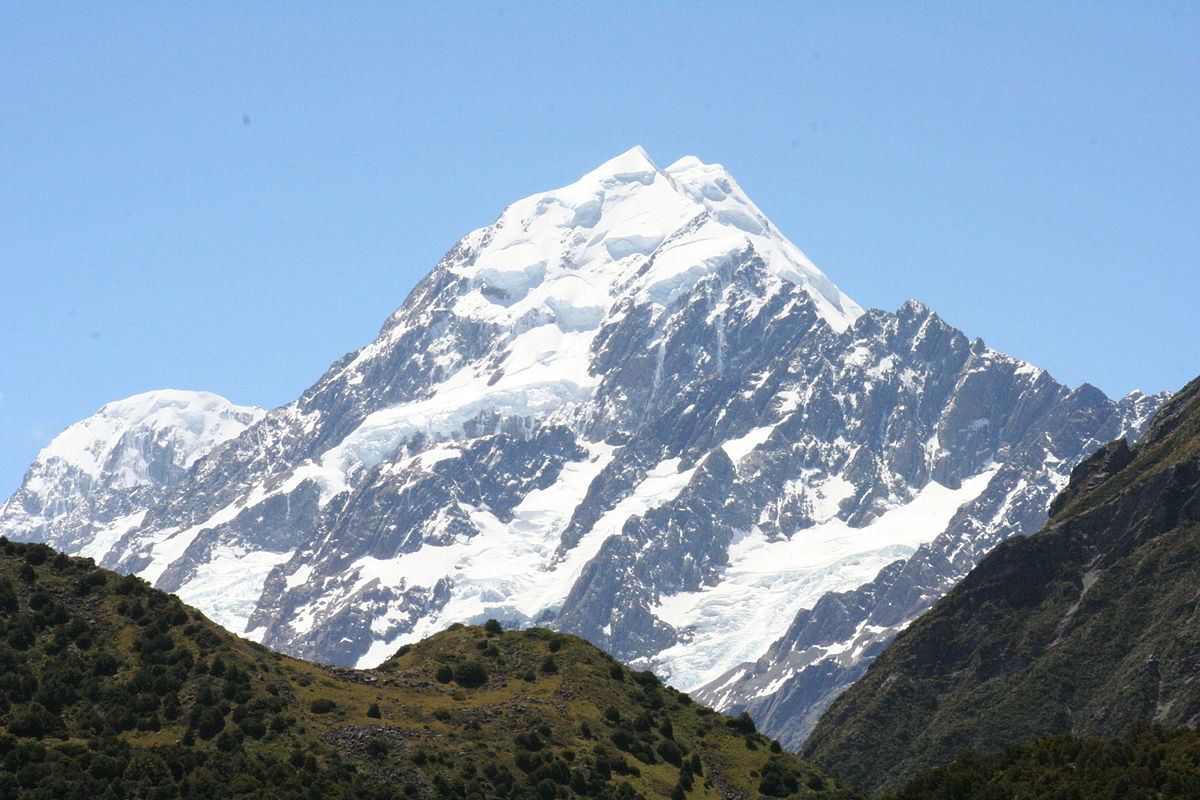 Aoraki Mount Cook svg #11, Download drawings