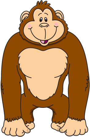 Ape clipart #18, Download drawings