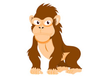 Ape clipart #12, Download drawings