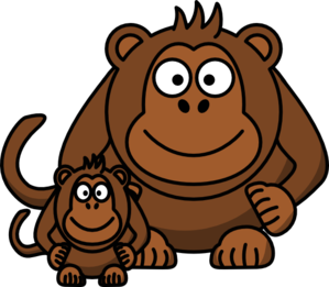 Ape clipart #7, Download drawings