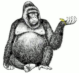 Ape clipart #4, Download drawings