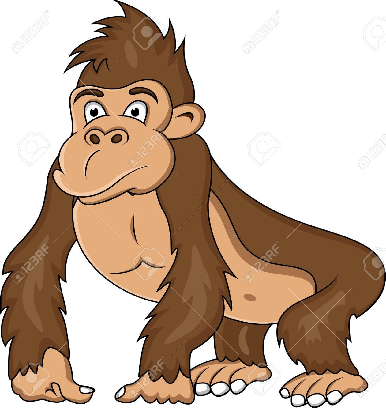 Ape clipart #8, Download drawings