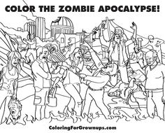 Apocalyptic coloring #3, Download drawings