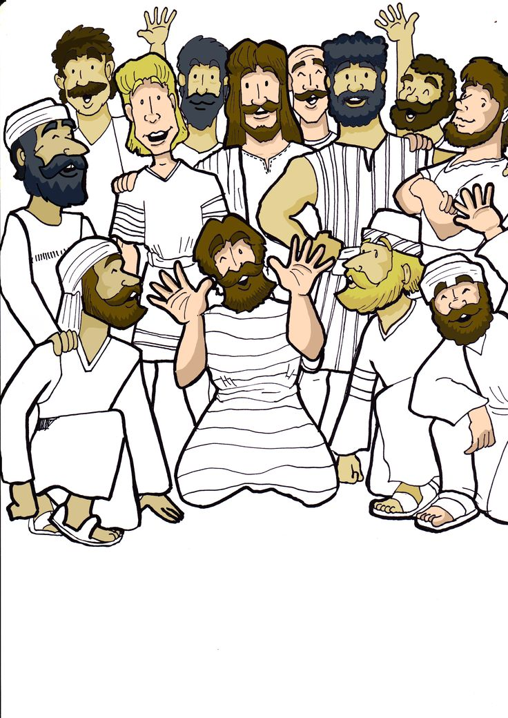 Apostles clipart #1, Download drawings