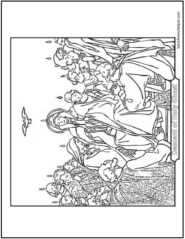 Apostles coloring #8, Download drawings