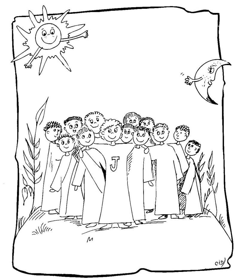 Apostles coloring #13, Download drawings