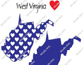 West Virginia svg #6, Download drawings