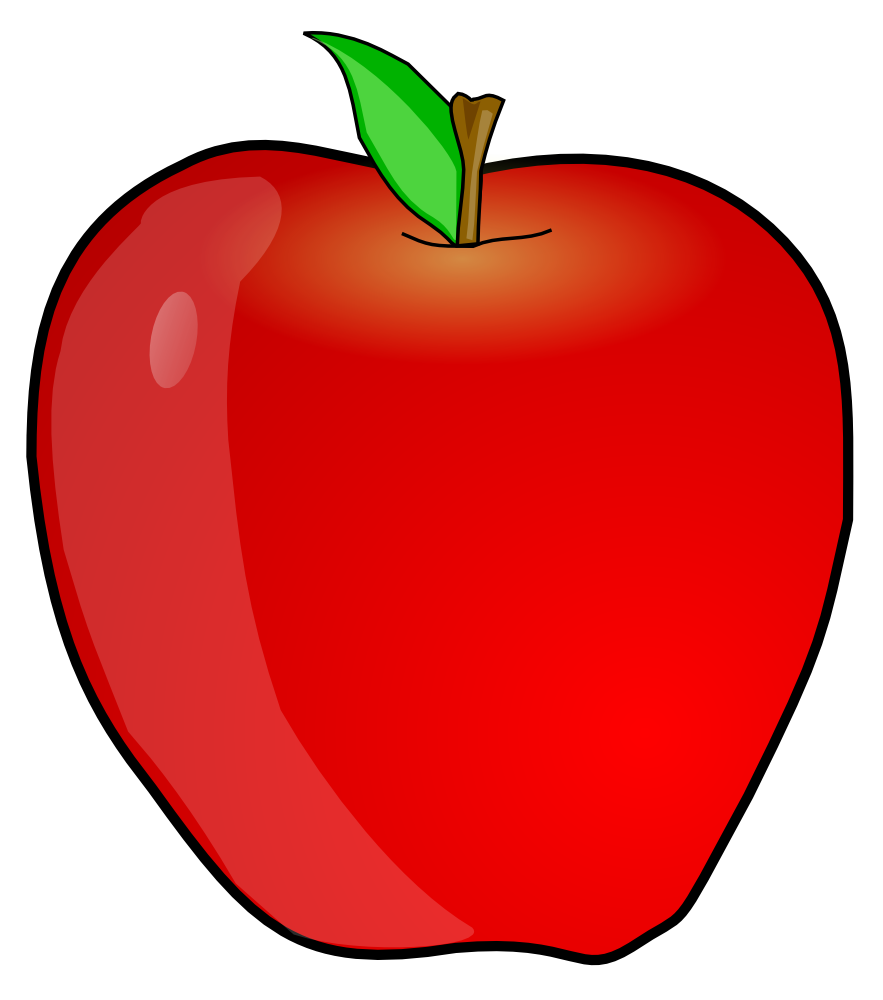 Apple clipart #6, Download drawings