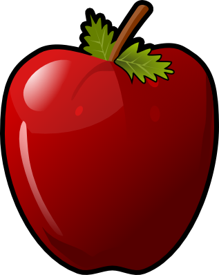 Apple clipart #3, Download drawings