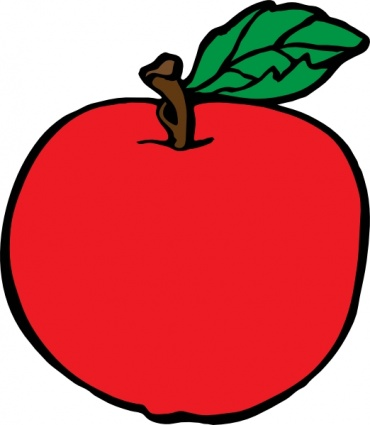 Apple clipart #17, Download drawings