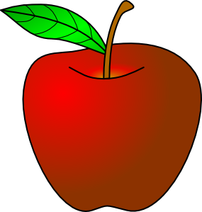Apple clipart #2, Download drawings