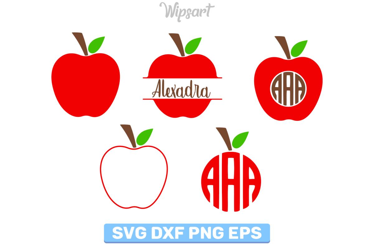 apple monogram svg #799, Download drawings
