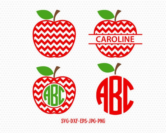 apple monogram svg #802, Download drawings