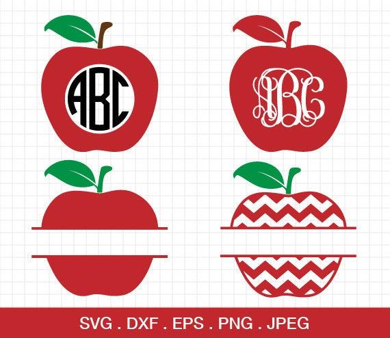 apple monogram svg #803, Download drawings