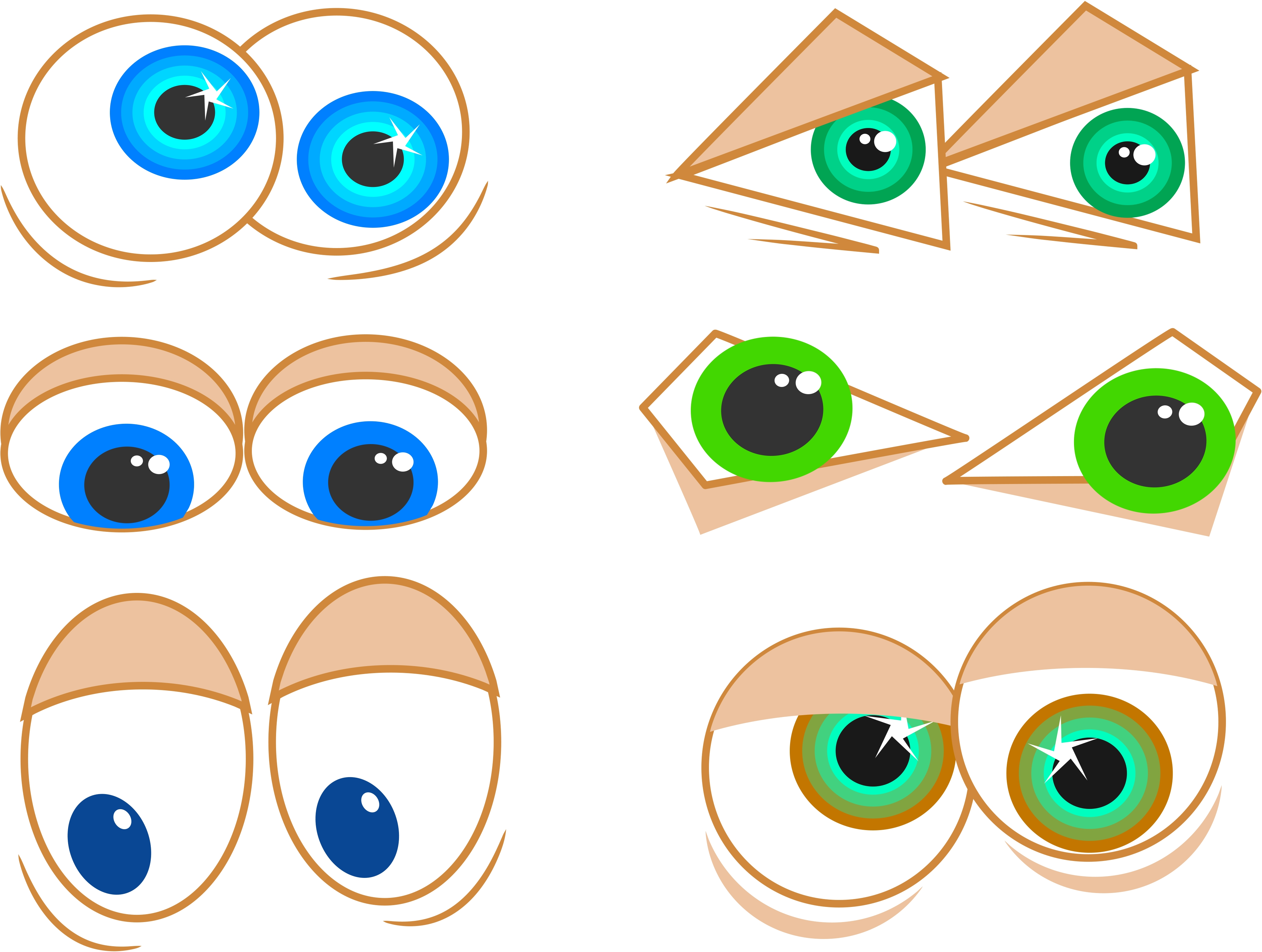 Aqua Eyes clipart #5, Download drawings