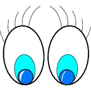 Aqua Eyes clipart #6, Download drawings