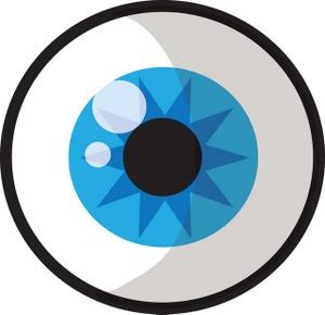 Aqua Eyes clipart #1, Download drawings