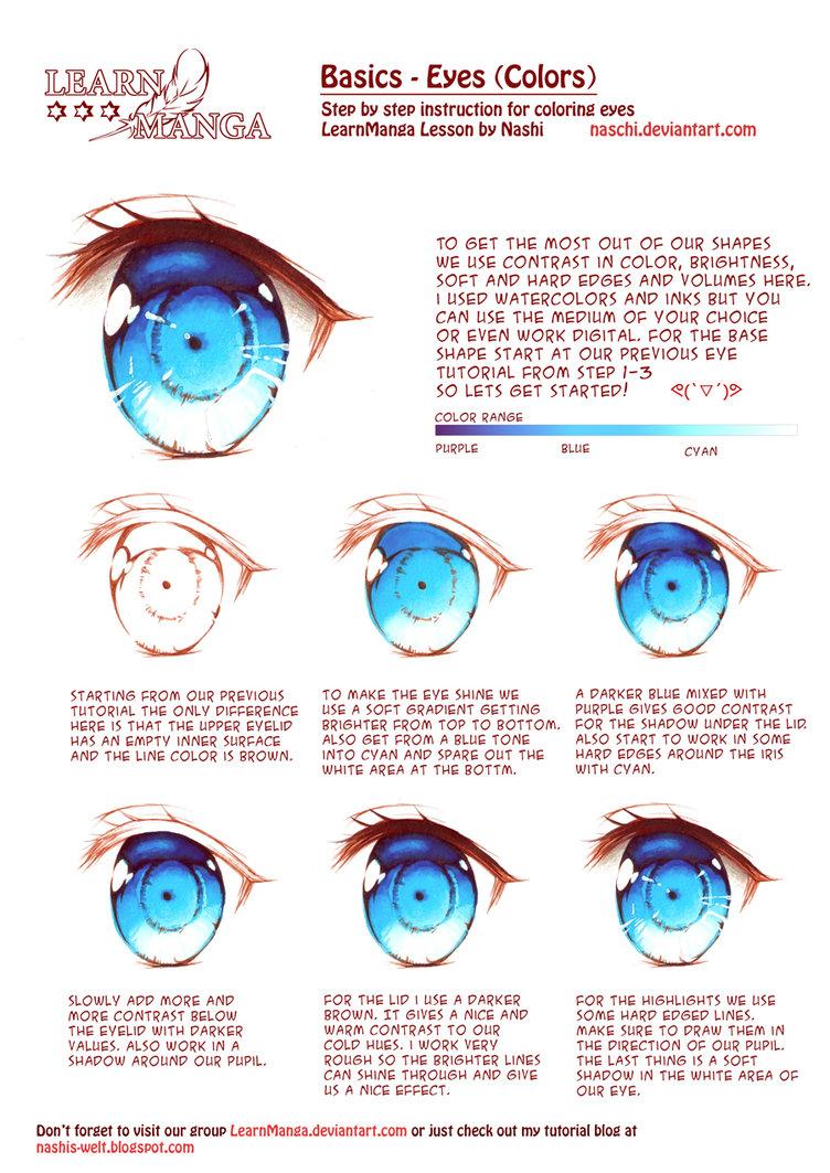 Aqua Eyes coloring #4, Download drawings