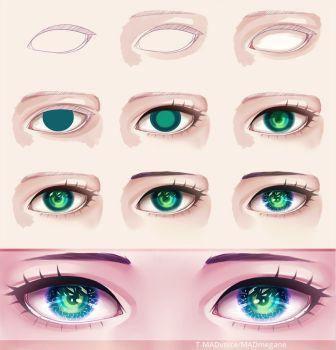 Aqua Eyes coloring #12, Download drawings