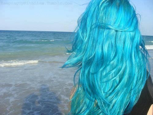 Aqua Hair coloring #9, Download drawings